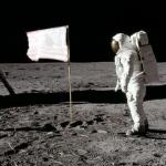 The US Flags On The Moon Are Probably Pure White Now