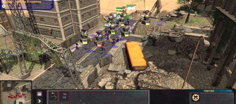 Defense General Lands On Steam Greenlight