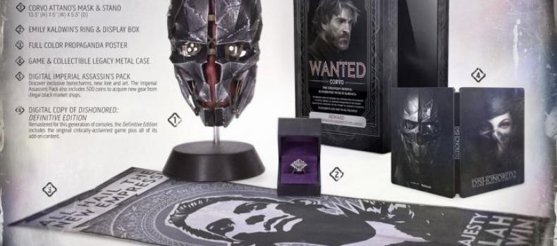 E3 2016: Dishonored 2 Collector's Edition Revealed