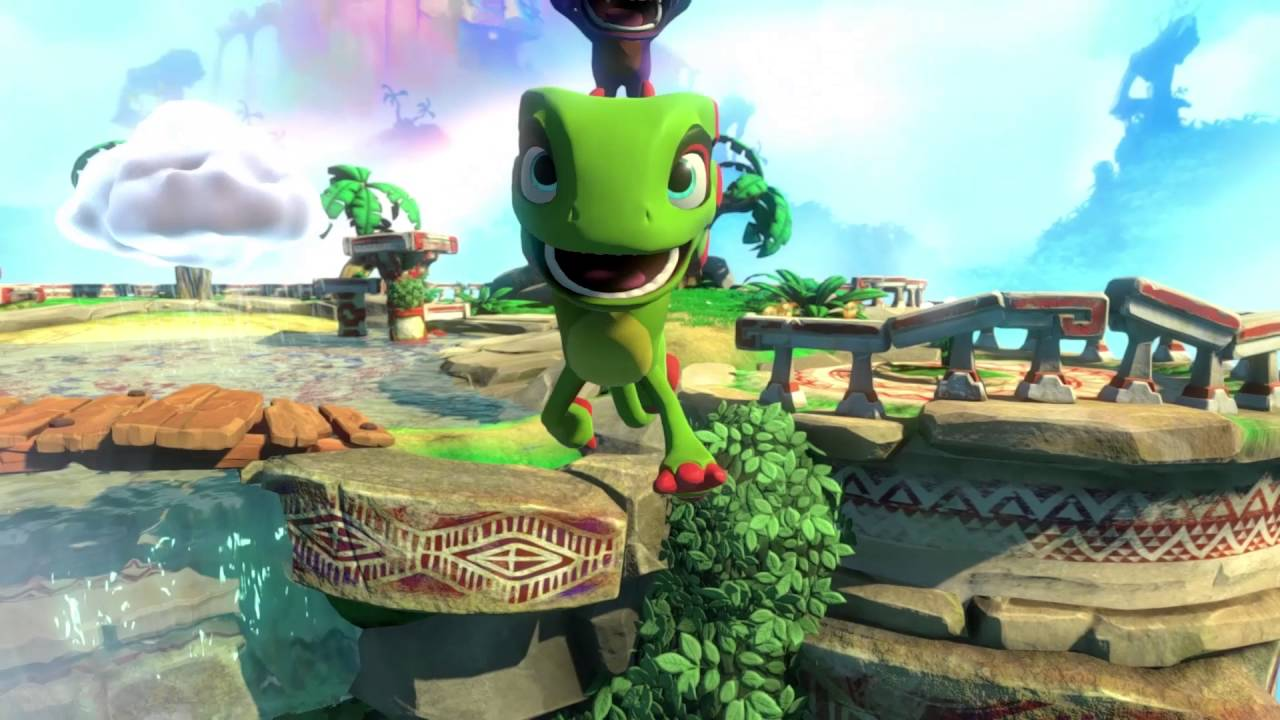 yooka laylee how to play coop