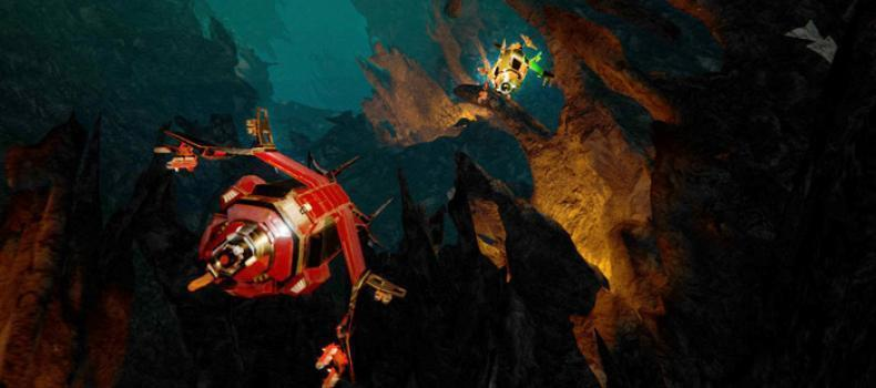 Descent: Underground Leads Industry In VR Action