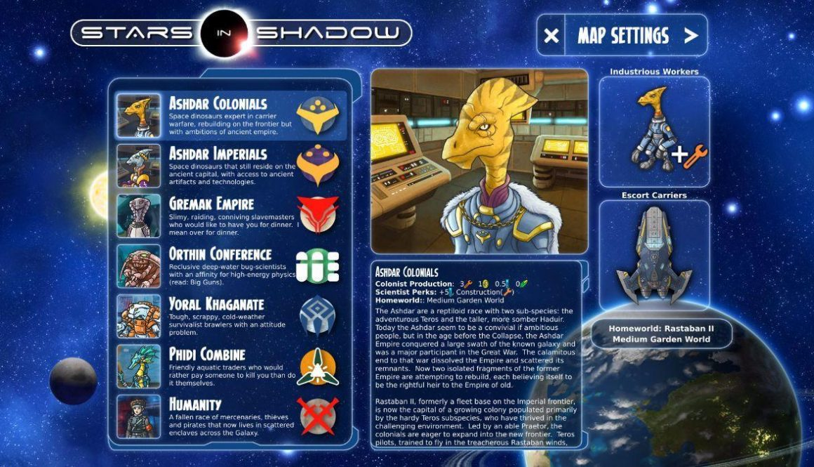 Stars in Shadow Launches On Steam Early Access