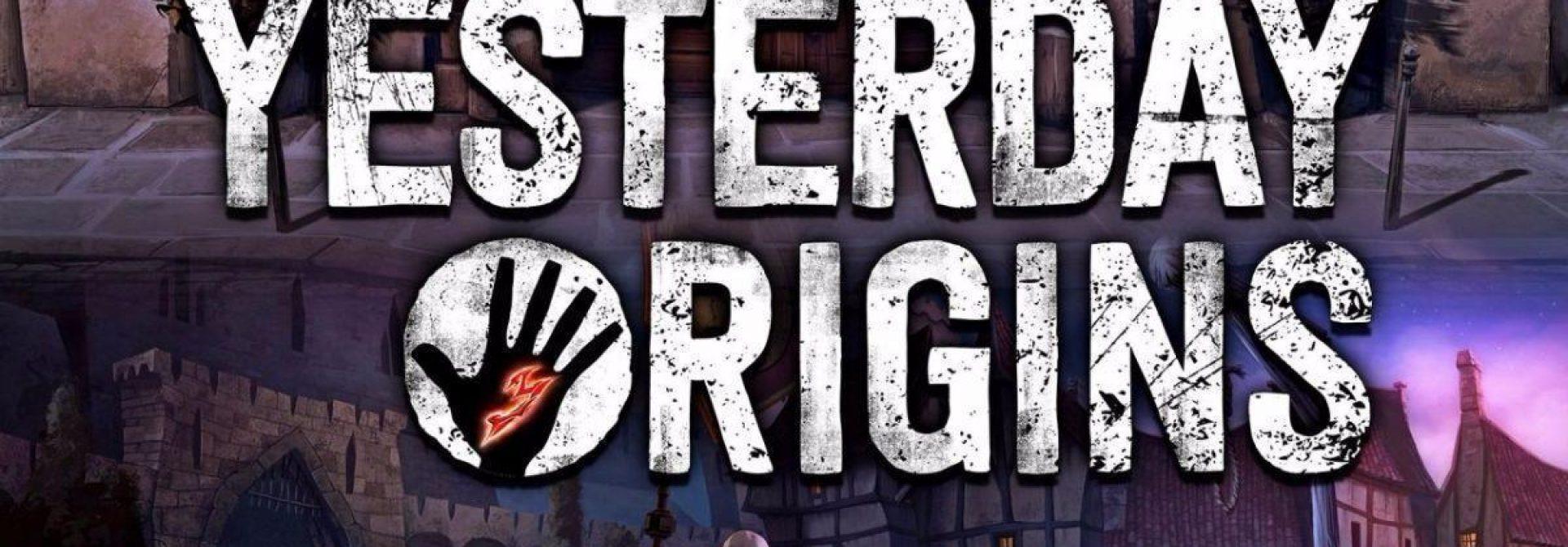 Yesterday Origins Released On PC, Mac