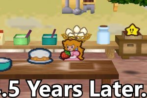 This Paper Mario Glitch Takes 4.5 Years To Pull Off