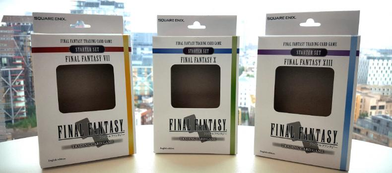The Final Fantasy Trading Card Game is Coming Like A Meteor
