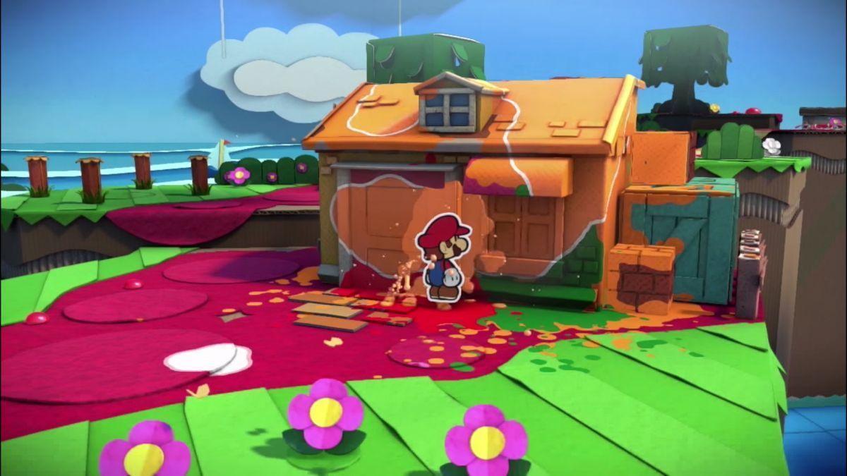 Super Mario Color Splash