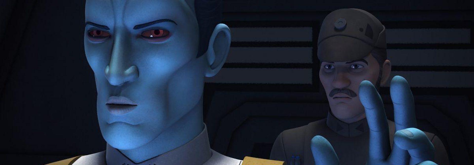 Star Wars Rebels: Thrawn Prepares to Strike