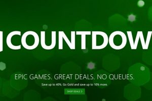 Xbox Countdown To 2017 Sale Launches
