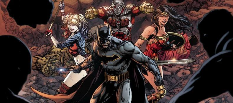 Justice League Vs. Suicide Squad Teased