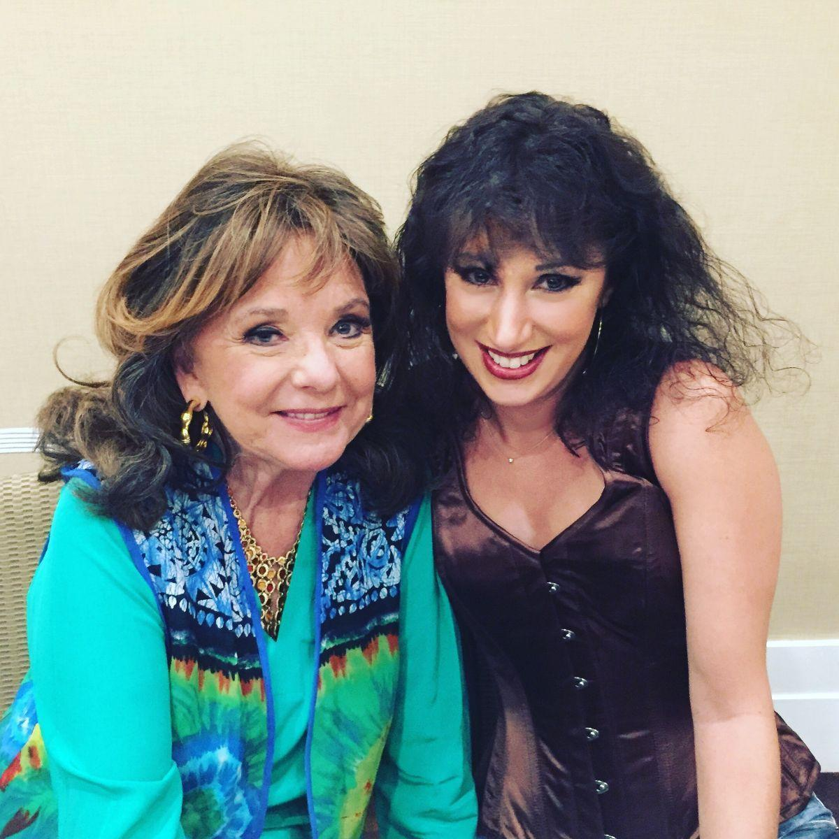 Laura Madsen and Dawn Wells at Chiller Theatre...