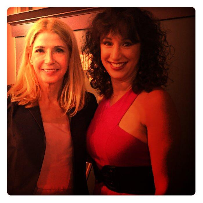 Laura Madsen and Candace Bushnell...