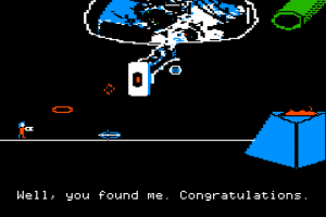 Some Genius Ported Portal To The Apple II