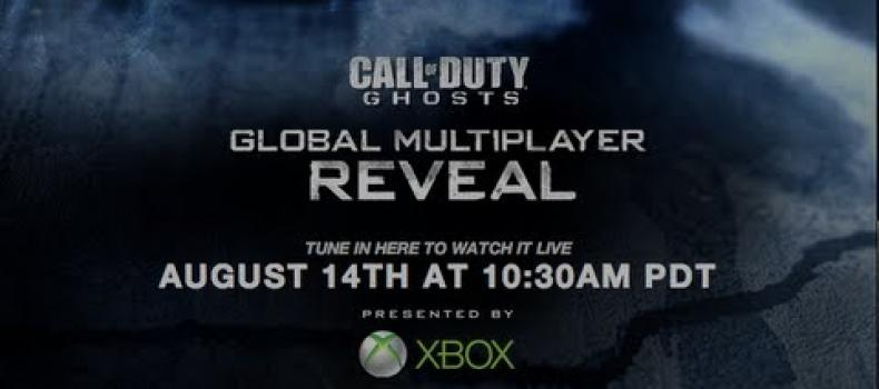 Activision presents Call of Duty: Ghosts multiplayer