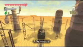 Adventure in the Desert Awaits Link in The Legend of Zelda: Skyward Sword for Wii