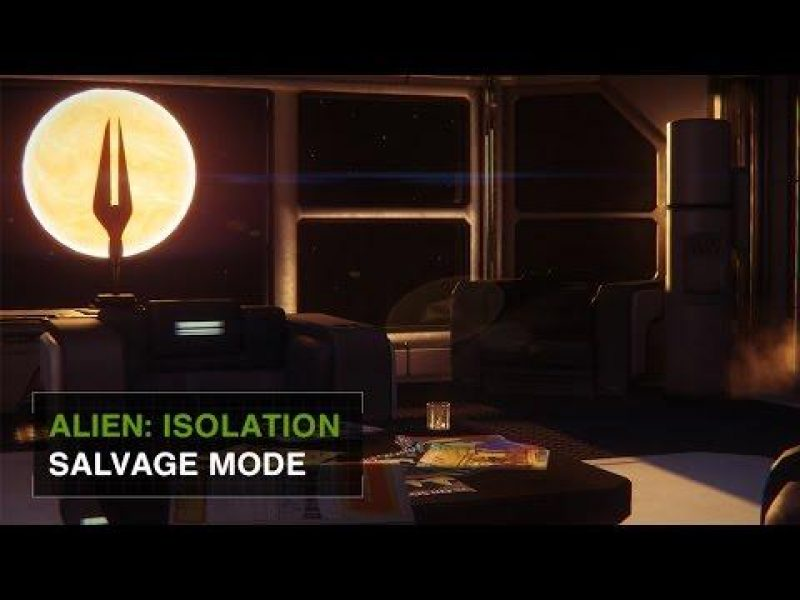 Alien Isolation: Salvage Mode Trailer Released