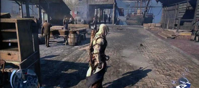 Assassin's Creed 3 Wii U Marketplace Gameplay