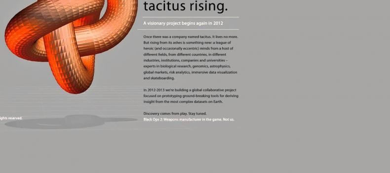 Black Ops 2: TACITUS is a weapons manufacturer