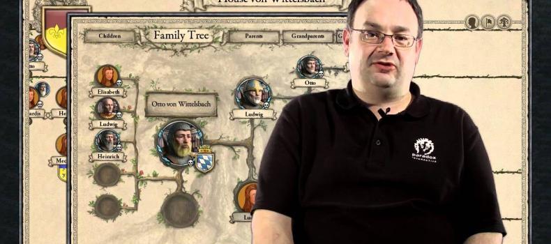Crusader Kings II Video Developer Diary 2 Character Database