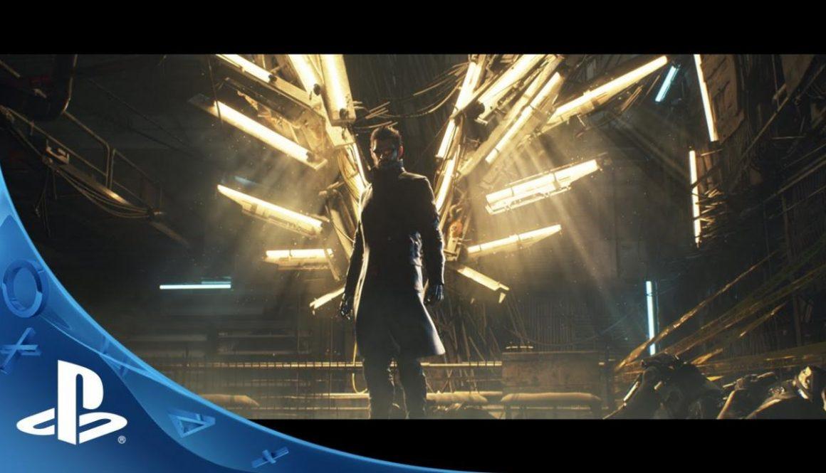 Deus Ex Mankind Divided Announcement Trailer Released Online