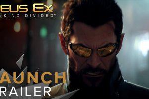 Deus Ex: Mankind Divided Launch Trailer