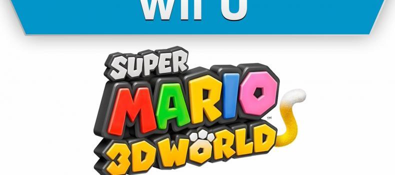 E3 2013 – Nintendo Reveals New 3D Mario Named Super Mario 3D World