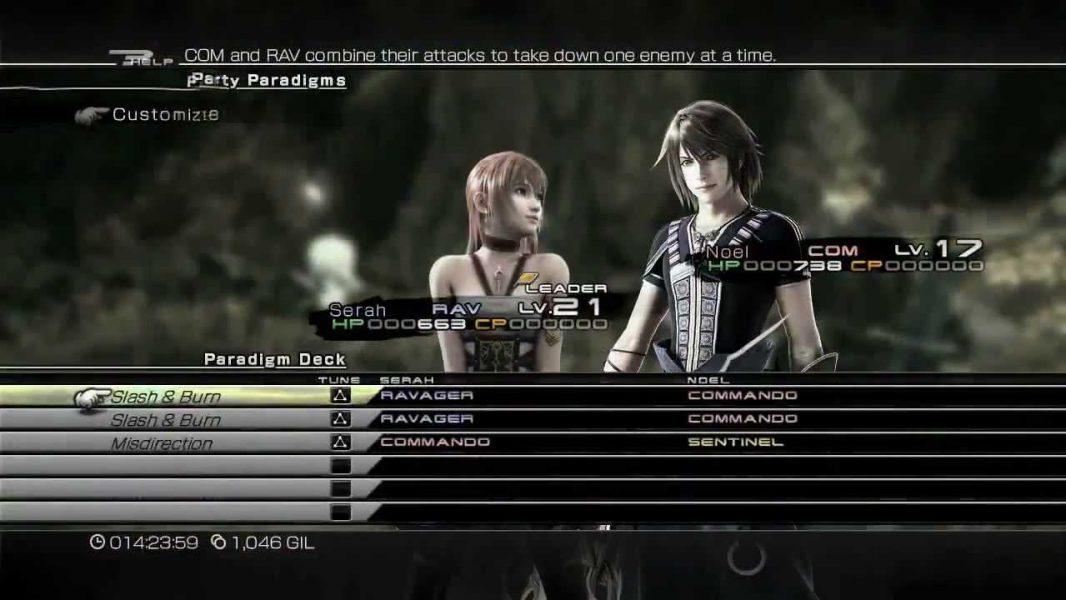 Final Fantasy XIII-2 Enhanced Battle System Trailer