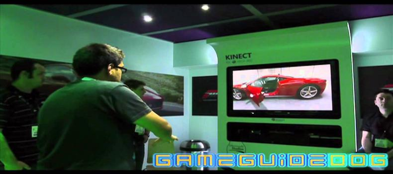 Forza Motorsport 4 Kinect Gameplay
