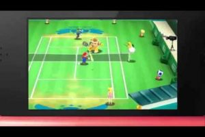Game Overview: Mario Tennis Open
