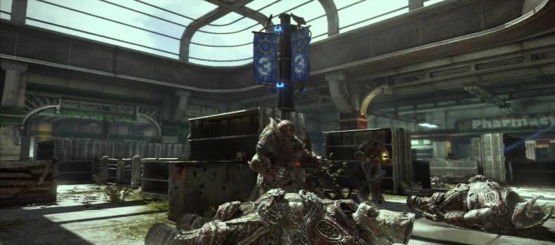 Gears of War 3: The Five Against All Horde Trailer, Featuring Ice-T
