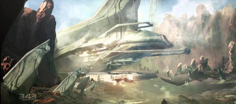 Halo 4 Concept Art Video