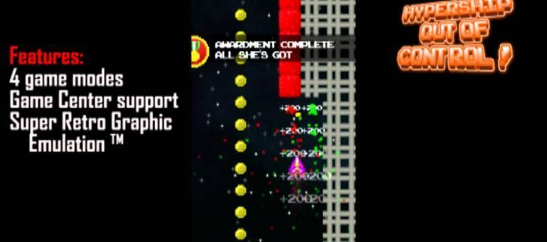 Hypership: Out of Control Released for iOS