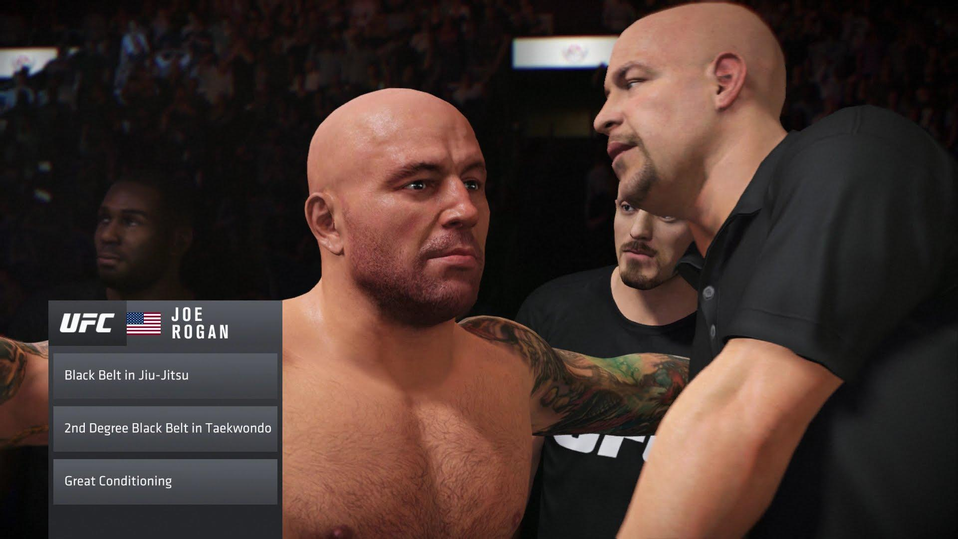 Joe Rogan Is Unlockable In Ea Sports Ufc 2 Sony Ps4