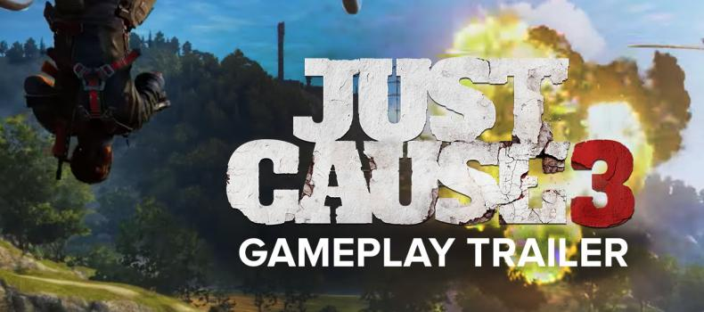 Just Cause 3: Rico Rodriguez Returns in Awesome Reveal Trailer