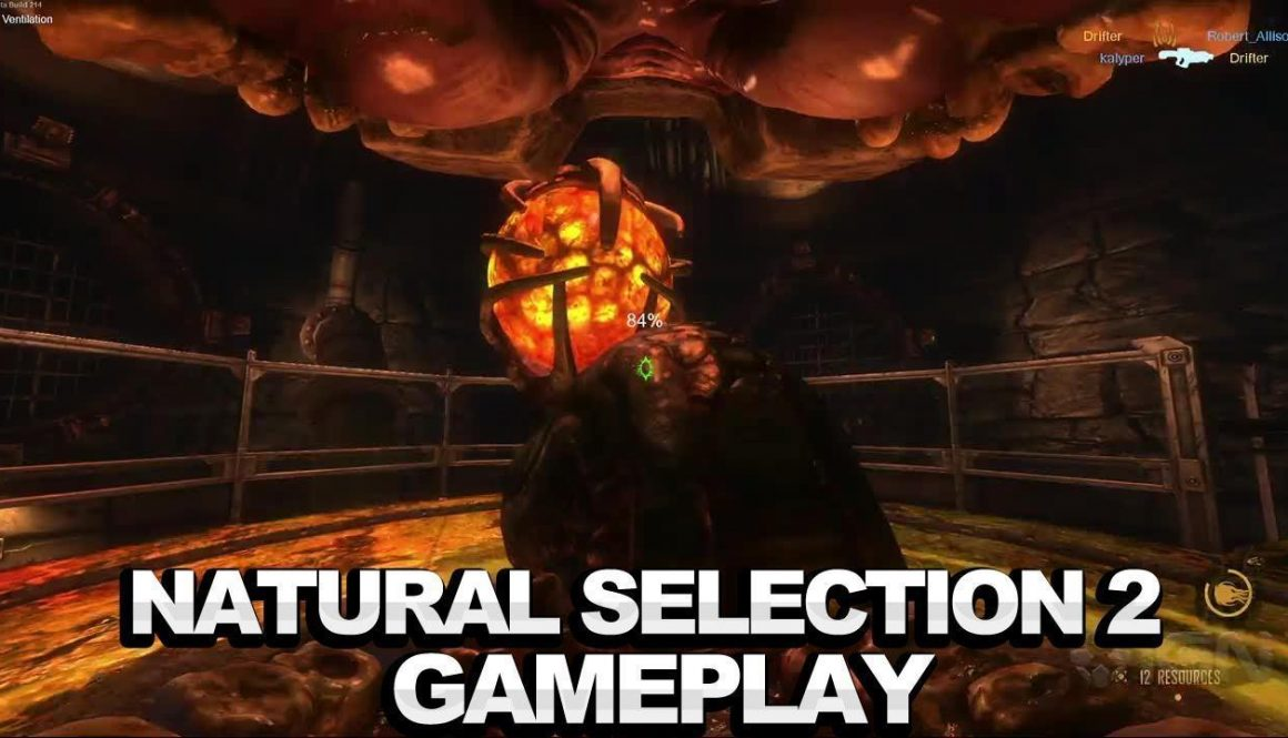 Natural Selection 2 Marine and Alien Gameplay Trailers