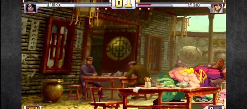 New Street Fighter 3 Online Gameplay Videos