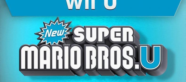 New Super Mario Bros U – First Look