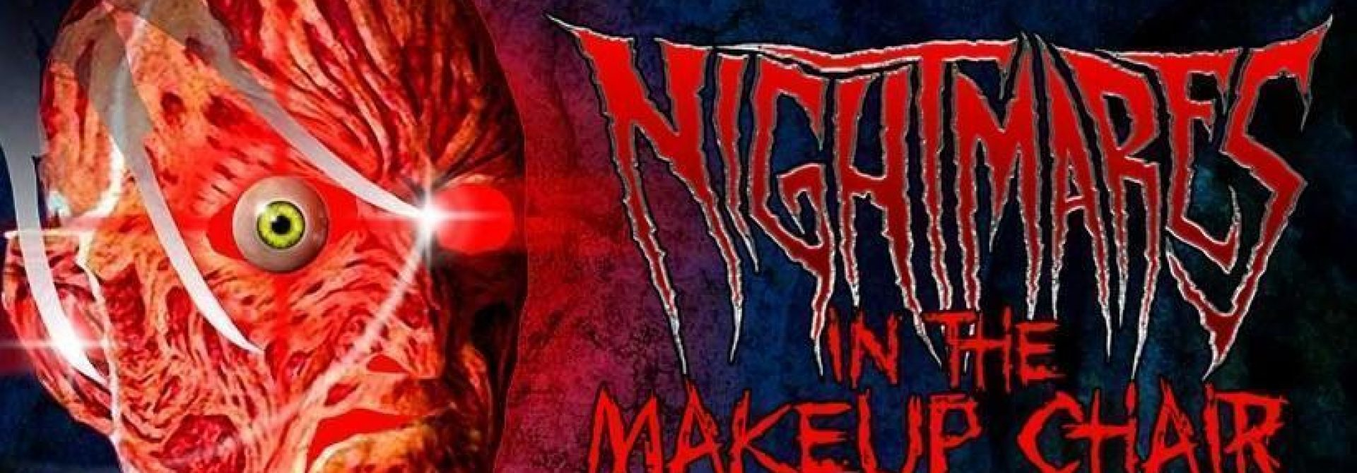 Robert Englund Presents A Nightmare In The Makeup Chair