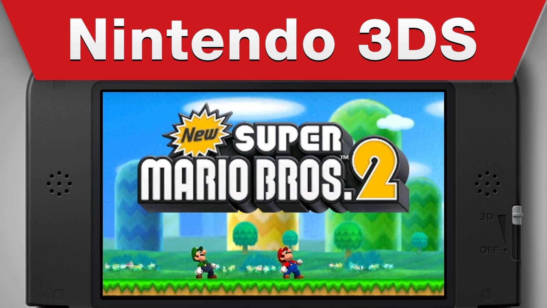 Nintendo Reveal New New Super Mario Bros 2 Details