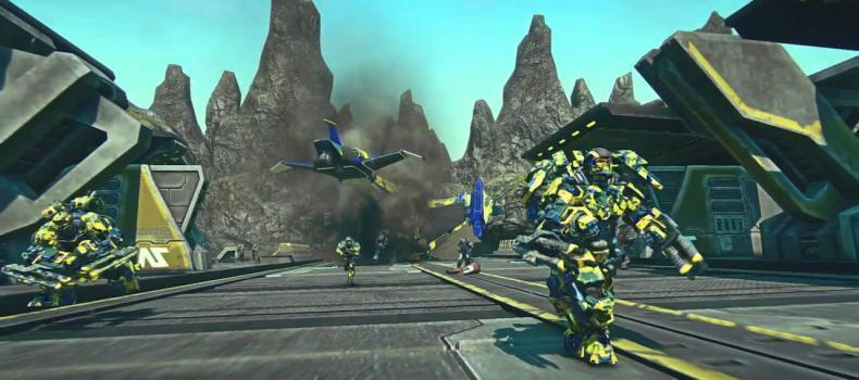 PlanetSide 2 On PS4 Will Be Playable At E3