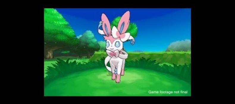 Pokemon X & Y: Sylveon announced