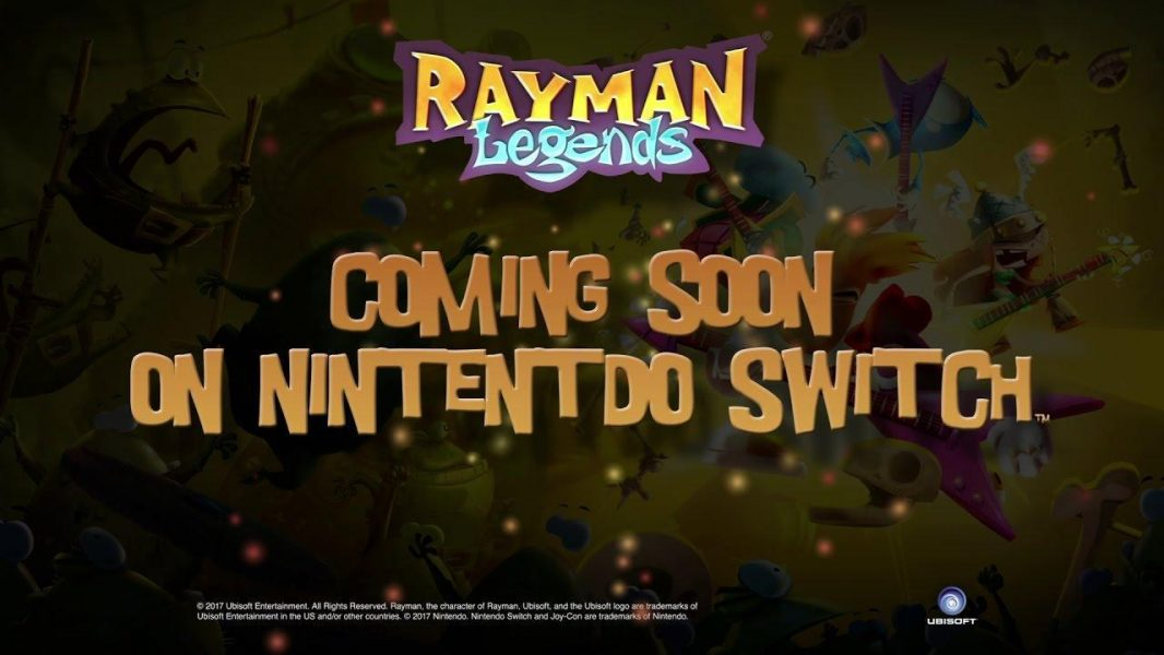 Rayman and Steep Set for Nintendo Switch