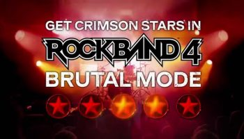 Rock Band 4 Receiving More Difficult Brutal Mode