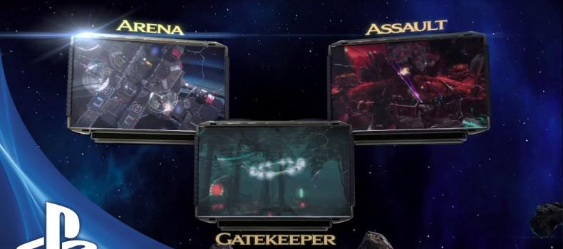 Starhawk patch 1.4 bringing 3 new gamemodes