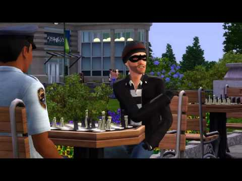 The SIMS 3 Town Life Stuff Pack In Stores Today, Launch Trailer