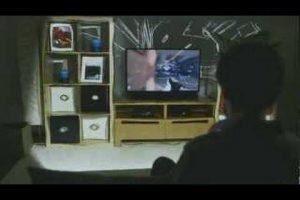 The Xbox Illumiroom Concept