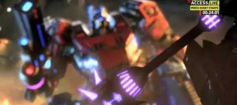 Transformer: Fall of Cybertron E3 Trailer