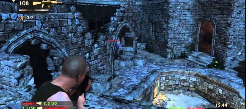 Uncharted 3 Syria Multiplayer Map Gameplay