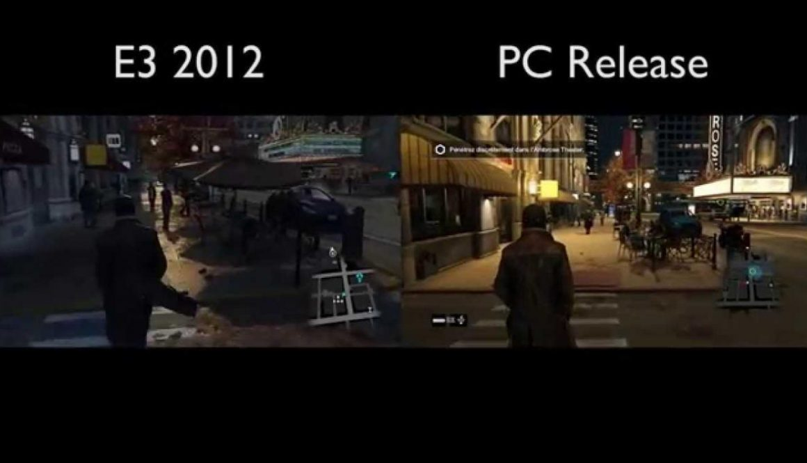 Watch Dogs E3 2012 Demo Vs. Final Retail Version (Same Area)