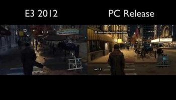 Watch Dogs E3 2012 Demo Vs. Final Retail Version (Same Area)