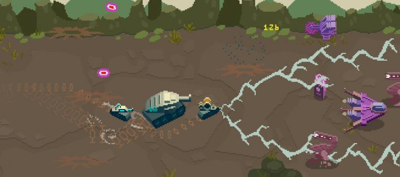 Retro Shooter Lil Tanks Hits Steam
